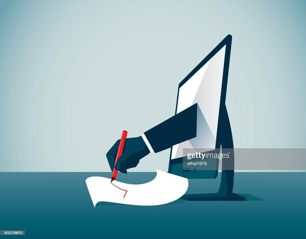 Business : stock illustration