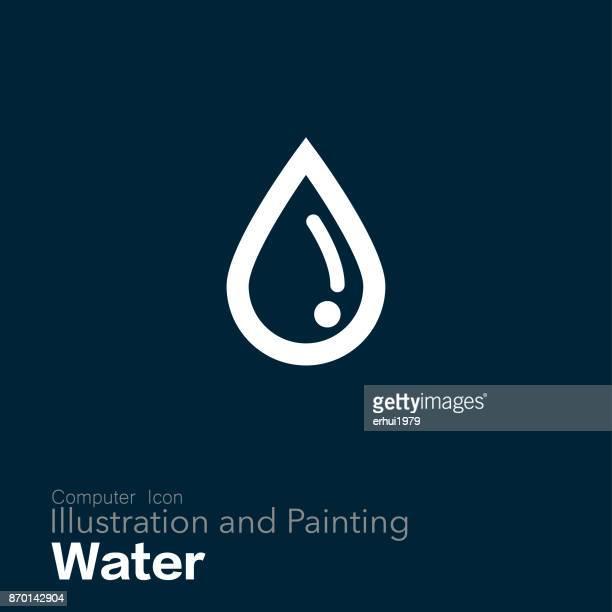 ビジネスの - 水の無駄遣い点のイラスト素材/クリップアート素材/マンガ素材/アイコン素材