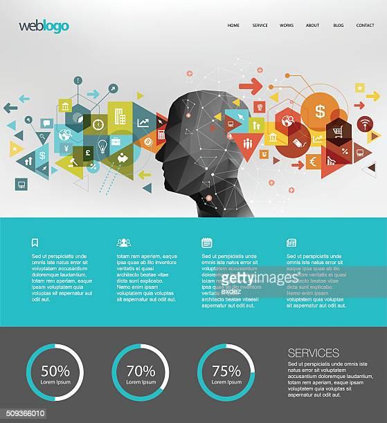ビジネスのウェブサイトのデザイン