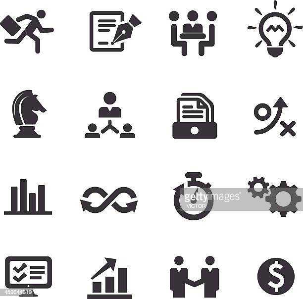 Business Workflow Icons - Acme Series