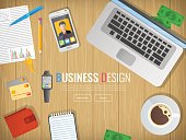 Business workplace. Office. Work in a team. Business design.