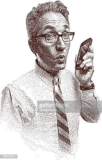 Businessman and Smart Phone