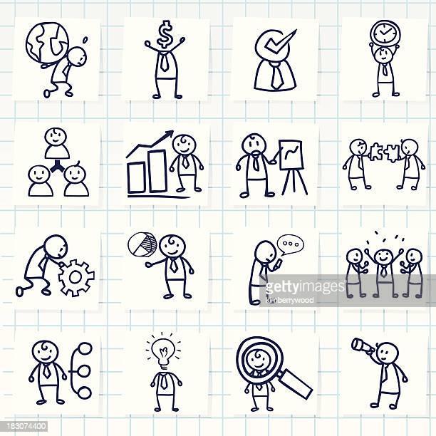 Geschäftsmann Konzept-Symbol