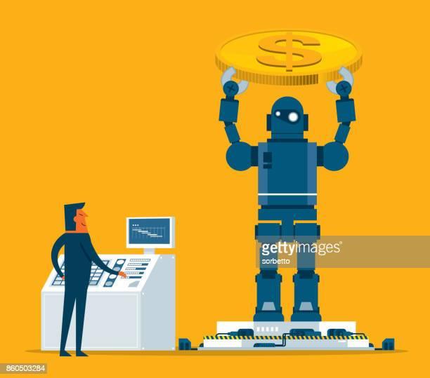 実業家制御ロボット