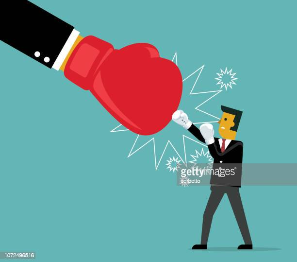 businessman fighting - office politics stock illustrations, clip art, cartoons, & icons