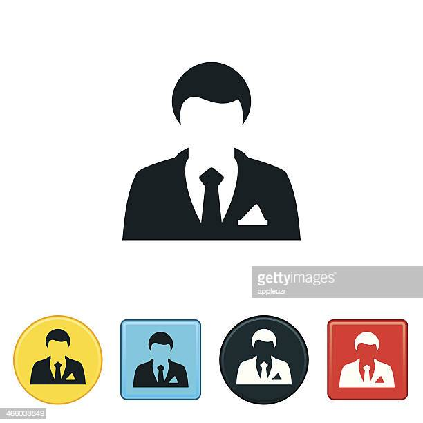 geschäftsmann symbol - full suit stock-grafiken, -clipart, -cartoons und -symbole