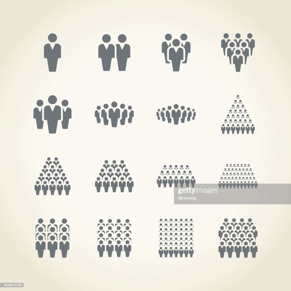 Businessman icons : stock illustration