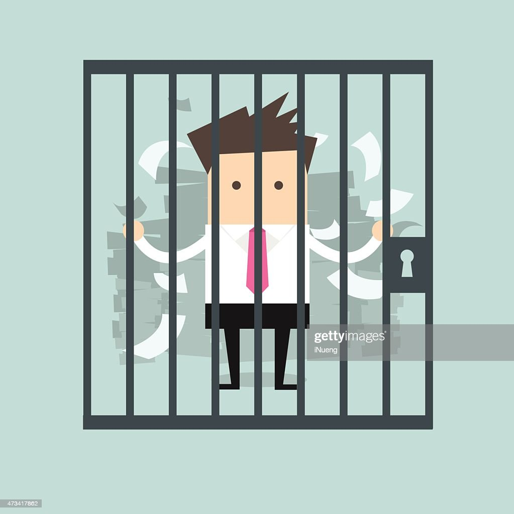 Businessman in prison