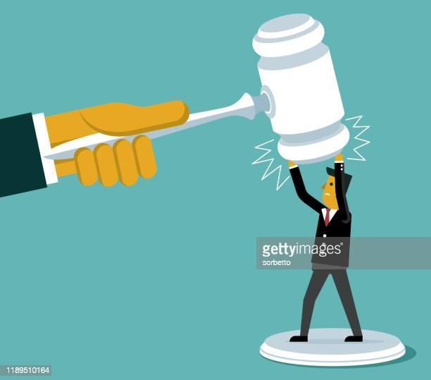 businessman - legal system - innocence stock illustrations