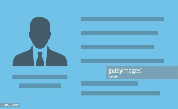 illustrations, cliparts, dessins animés et icônes de photo d'homme d'affaires pour document - permis de conduire