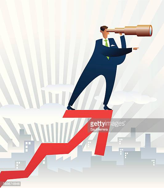 businessman search more opportunities - car salesperson stock illustrations, clip art, cartoons, & icons