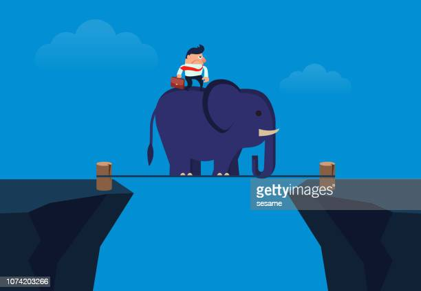 Elephant Ride Premium Stock Illustrations - Getty Images