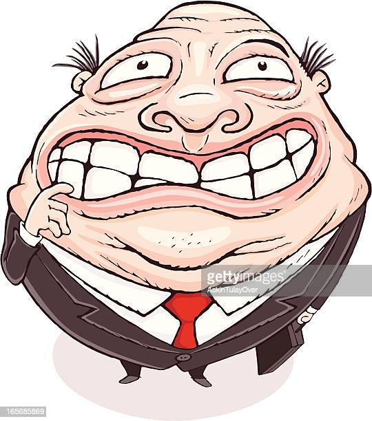 businessman - obsessive stock illustrations, clip art, cartoons, & icons