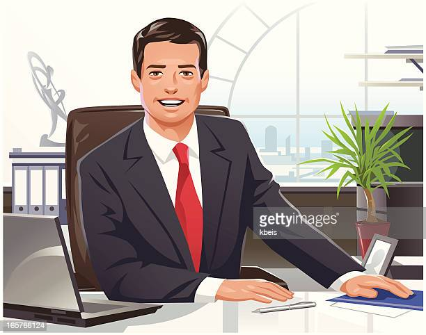 businessman - formal businesswear stock illustrations