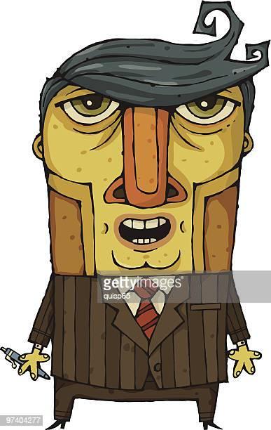 geschäftsmann - full suit stock-grafiken, -clipart, -cartoons und -symbole
