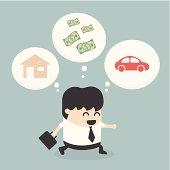 Businessman Walking dream