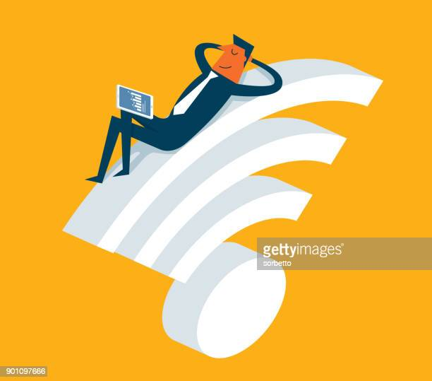 Businessman - Wireless Technology