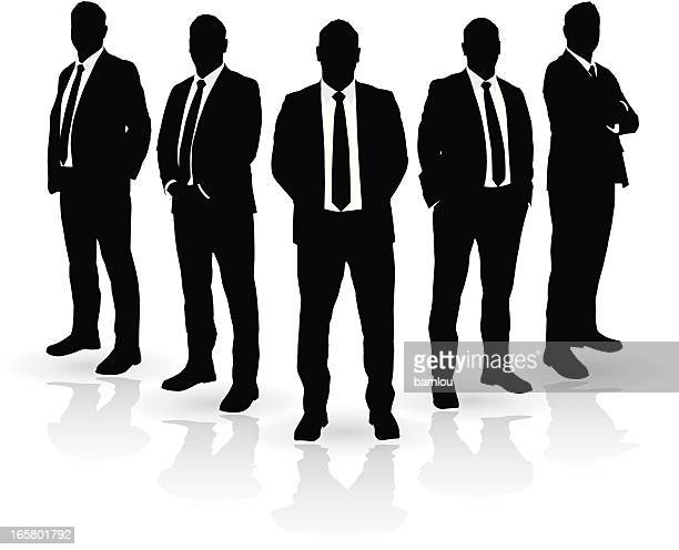 businessmen Group of Five