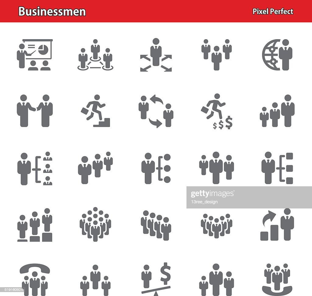 Businessmen Icons - Set 2