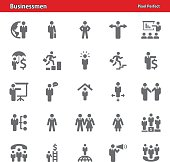 Businessmen Icons - Set 4