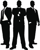 Businessmen in Black Series