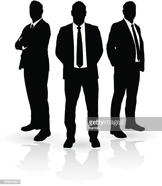 Businessmen Trio