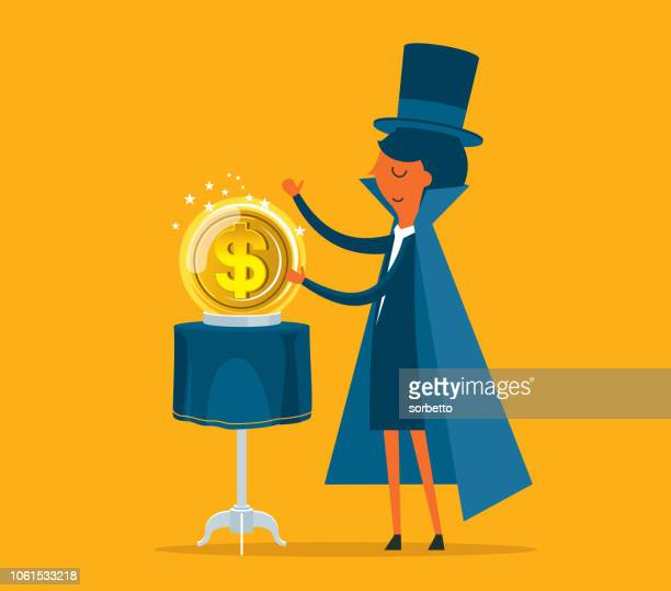 Businesswoman - Financial wizard