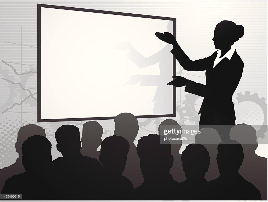 Businesswoman Speech