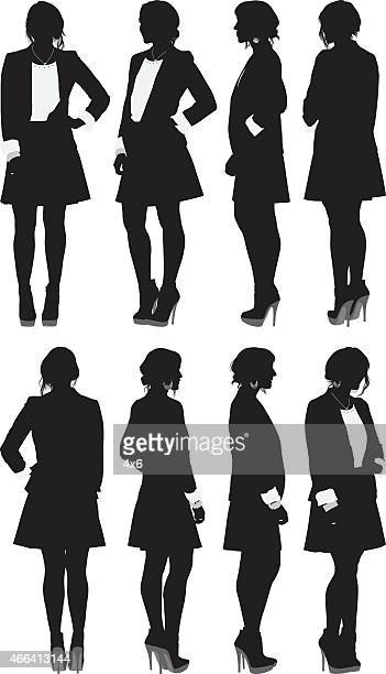 Businesswoman standing