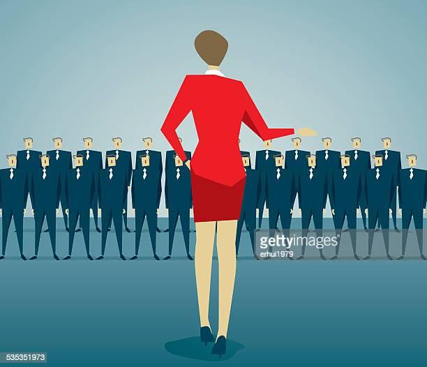 businesswoman - foreman stock illustrations, clip art, cartoons, & icons