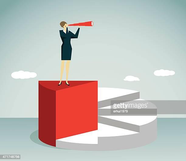 ilustraciones, imágenes clip art, dibujos animados e iconos de stock de mujer de negocios-ilustración - ejecutiva