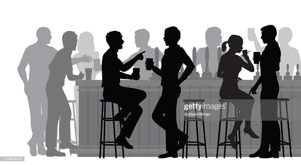 Busy bar