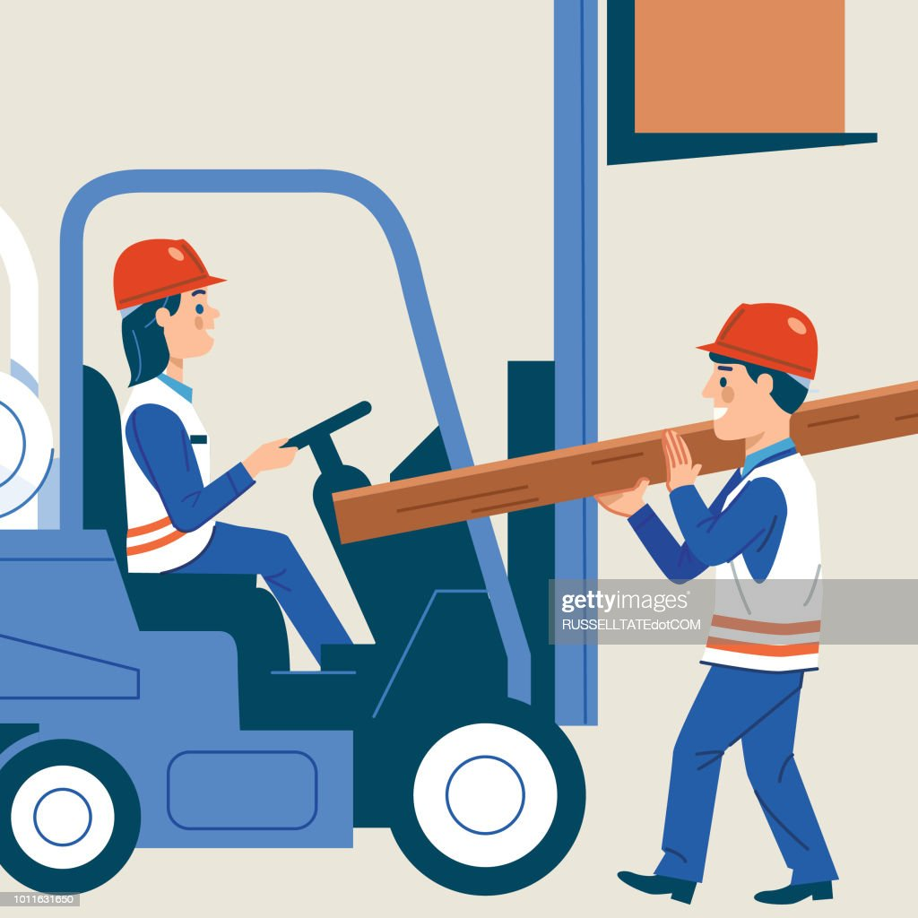 Busy Workplace : stock vector