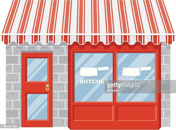 illustrations, cliparts, dessins animés et icônes de butcher shop - boucherie