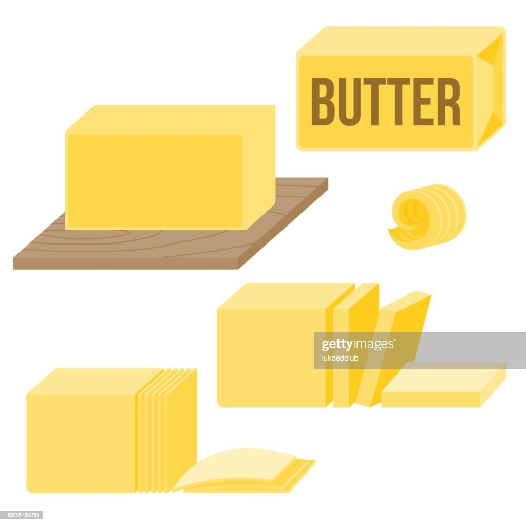 Butter in various types