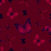 butterfly 07 red