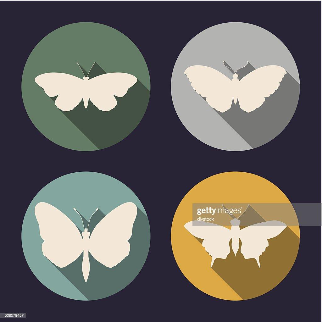Motif papillon : Clipart vectoriel