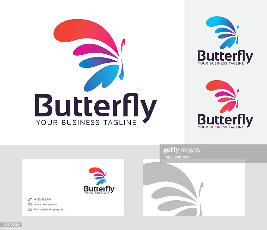 Butterfly Entertainment vector logo