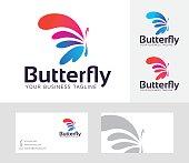 Butterfly Entertainment vector logo