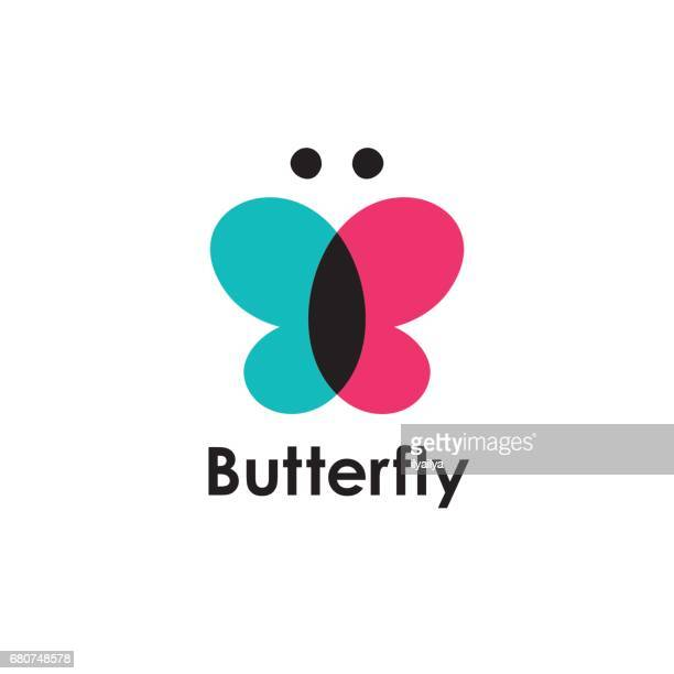 butterfly icon vector - blanket stock illustrations