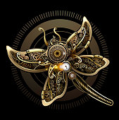Butterfly steampunk concept