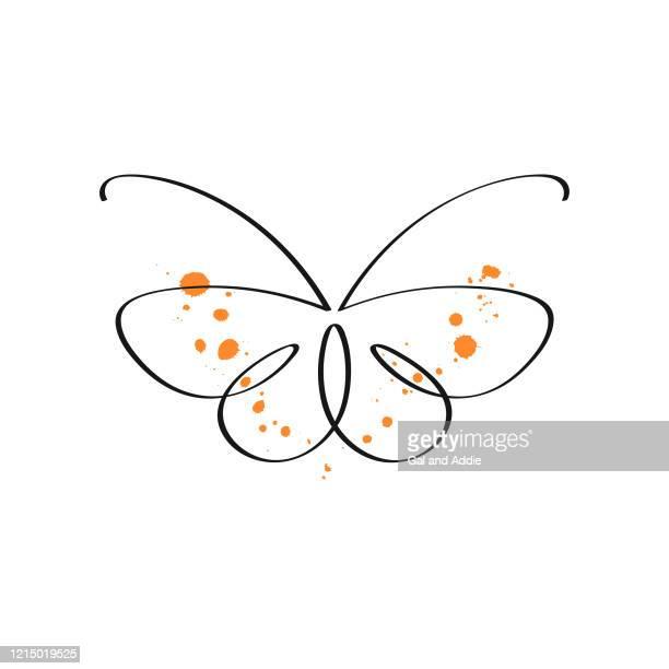 illustrazioni stock, clip art, cartoni animati e icone di tendenza di farfalla - soltanto un animale