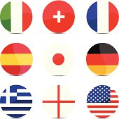 Button flags