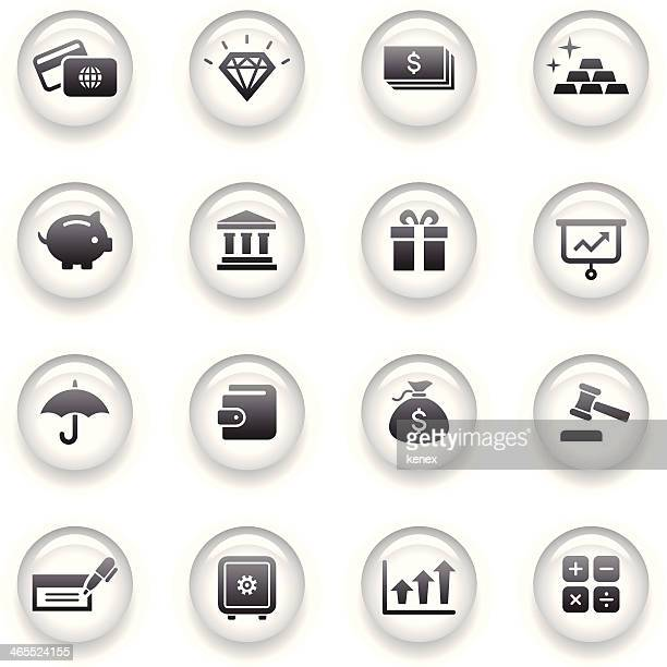Button Icons Set | Banking & Finance