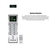 Buttons and display modern design for elevator., Lift