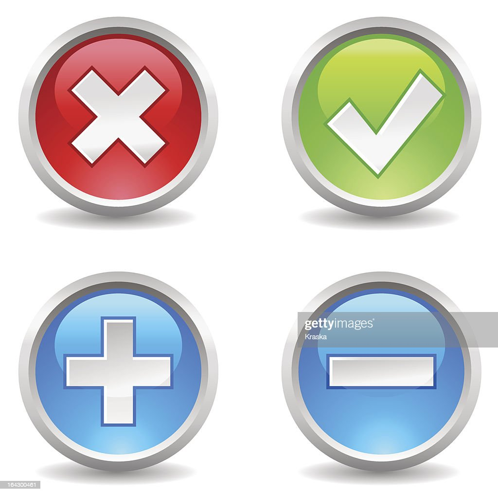 buttons - delete, eccept, add, exclude;