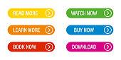 Buttons vector isolated web design elements. Vector web action buttons. Navigation app. Vector banner. Arrow navigation icon vector.