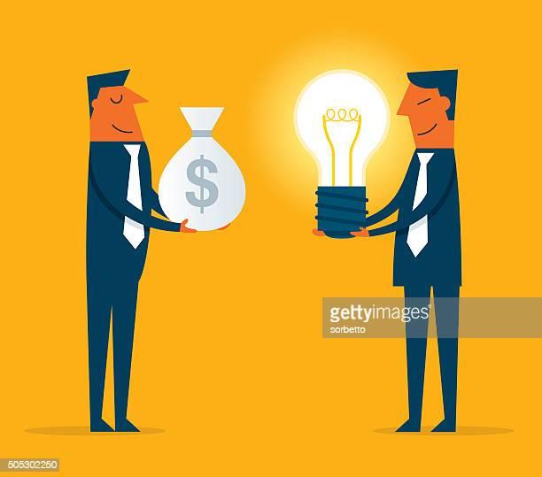 アイデアお金を購入