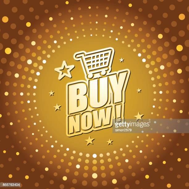 buy now banner - cartografia stock illustrations