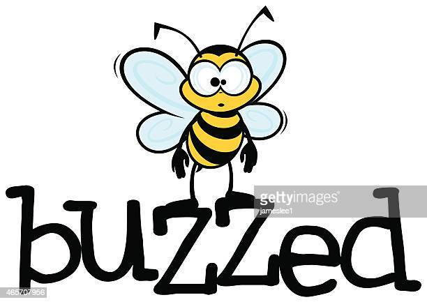 buzzed - bumblebee stock illustrations, clip art, cartoons, & icons